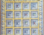 Baby quilt with cars (100 x 90 cm)