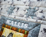 Personalized Pachwork quilt