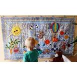 Kinderzimmer Textilien