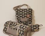 Weekender Bag Set, beige