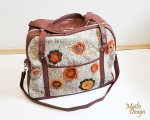Mary Poppins style large weekender bag