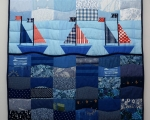 Twin Quilt Nautical (165 x 110 cm)