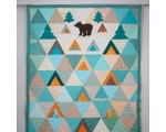 Single Size Quilt, Forest (220 x 145cm)