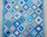 Single Size Quilt, Blue (200 x 140 cm)