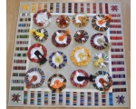 "Wall hanging quilt ""Dance Festival"". Made to Order."