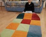 Dog bed, sleeping mat, XL - 70x110cm