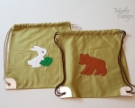 Drawstring bag for kids