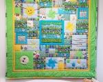Spieldecke für Kleinkinder Dschungel (140 x 140 cm), Grün