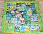 Baby Activity Mat Jungle (140 x 140 cm), green